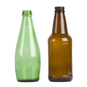 GlassBottlesGreenBrown-recycling